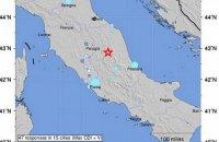 В центральной Италии произошло землетрясение (обновлено)