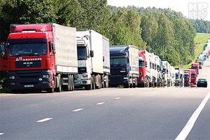 На границе с Россией продолжают стоять в очереди 70 фур