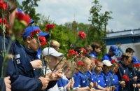 В Киеве почтили память Валерия Лобановского