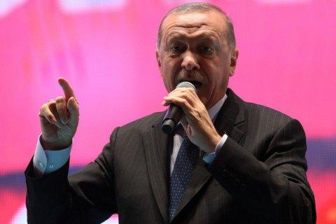 Эрдоган заявил, что турецкие силы в Сирии захватили жену убитого главаря ИГИЛ