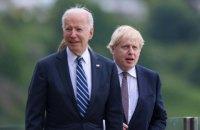 Байден і Джонсон домовилися про віртуальний саміт G7 з питань Афганістану