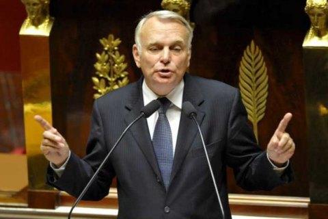 """Голова МЗС Франції: зняти санкції з Москви означало б """"опустити руки"""""""