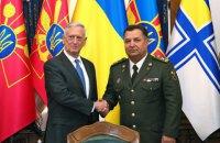 Министры обороны Украины и США провели переговоры в Киеве