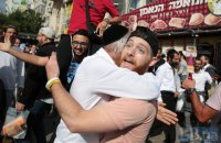 До Умані на святкування Рош Гашана прибули 30 тис. паломників-хасидів