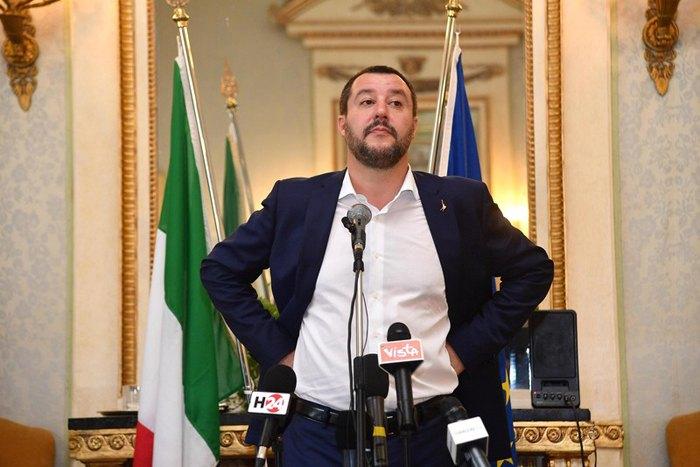 Вице-премьер и министр внутренних дел Италии Маттэо Сальвини