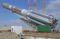 Російська ракета впала на старті через зруйнований підшипник