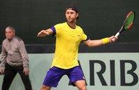 Сборная Украины проиграла шведам в Кубке Дэвиса