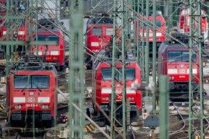 В Германии забастовка железнодорожников остановила 90% поездов