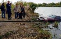 Автомобиль с водителем утонул в Днестре в Одесской области