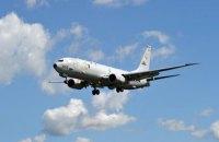 Американский патрульный самолет провел разведку возле аннексированного Крыма
