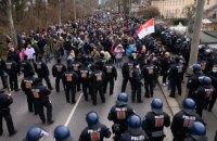 У Німеччині поліцейські розігнали акції протесту проти карантинних обмежень