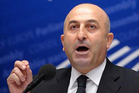 Глава МИД Турции посетит Украину