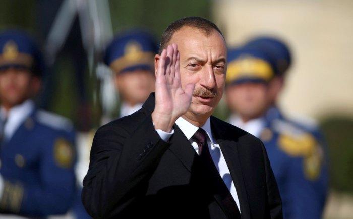 Призидент Азербайджана Ильхам Алиев