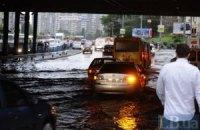 Киев не справился с первым серьезным ливнем