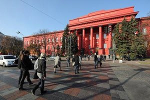 Правоохоронці перекрили підходи до університету Шевченка