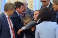 Глава Госпогранслужбы остается в больнице после обморока на официальной церемонии