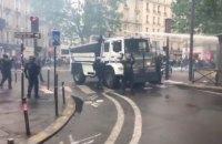 Манифестация госслужащих в Париже переросла в беспорядки