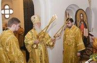 Патріарх Філарет здійснив перше святкове богослужіння в Малій Софії