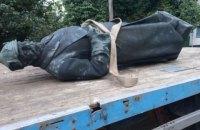 У Каховці демонтували пам'ятник Фрунзе