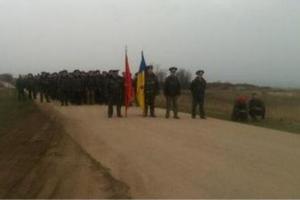 """Беззбройні українські військові повернули контроль над """"Бельбеком"""""""