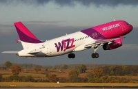 """Wizz Air запустила рейс """"Львов - Вильнюс"""""""