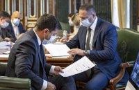 В Украине пятую неделю наблюдается положительная динамика по заболеваемости COVID-19 - совещание у президента