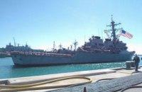 США відправили в Чорне море есмінець Porter