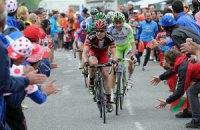 """Велогонщик """"Катюши"""" выиграл равнинный этап """"Тур де Франс"""""""