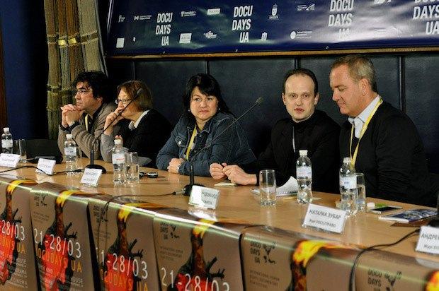 Пресс-конференция членов жюри 11-го Докудейс