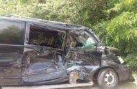 Мікроавтобус Управління держохорони потрапив у ДТП в Запорізькій області