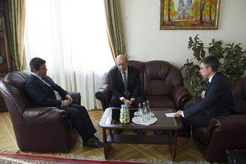 У Києві зустрінуться голови МЗС Німеччини, Франції та України