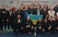 На чемпионате мира по самбо Украина завоевала 11 медалей