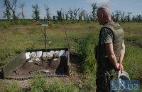 Четверо военных погибли, еще четверо ранены за сутки на Донбассе