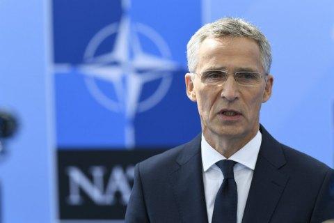 НАТО и Грузия обеспокоены укреплением военных позиций России на Черном море, - Столтенберг