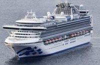 В Японии лайнер с 3,5 тыс.пассажиров поместили на карантин из-за коронавируса