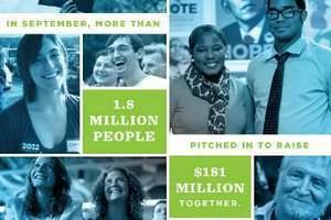 Обама зібрав за вересень понад 180 мільйонів доларів