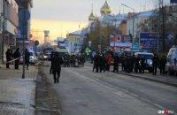 Біля будівлі ФСБ у російському Архангельську стався вибух, є загиблий (оновлено)