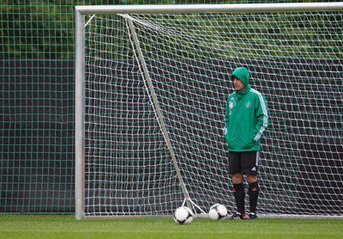 Йоахім Льов, наставник збірної Німеччини під час тренування