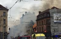 В Брюсселе из-за взрыва газа разрушен четырехэтажный дом