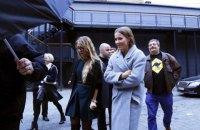 """На Собчак у центрі Москви напали з криком """"це за Жириновського"""""""