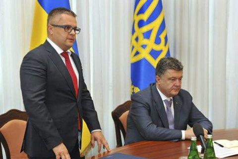 """Порошенко удовлетворил заявление гендиректора """"Укроборонпрома"""" об отставке"""