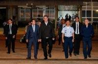 У літаку, що супроводжував президента Бразилії на саміт G20, знайшли 39 кг кокаїну