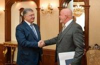 Порошенко пропонує Ryanair створити хаб Ryanair в Україні