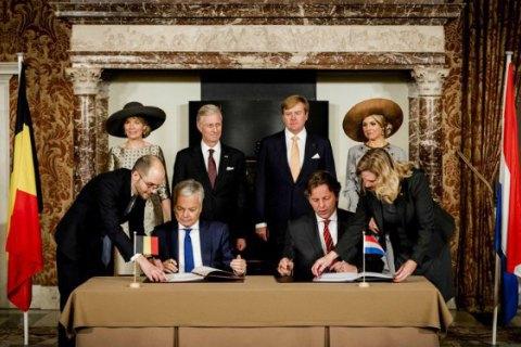 Бельгія і Нідерланди домовилися про обмін частинами територій