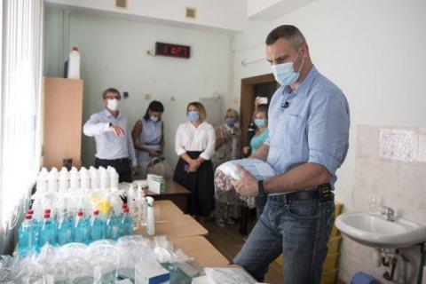 У Києві подачею кисню обладнані понад 3 100 ліжок для хворих на коронавірус, - Кличко