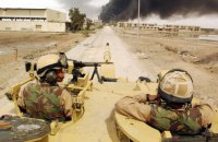 Две ракеты упали вблизи военной базы США в Ираке