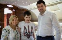 Прес-секретар Порошенка розповів, як проходила операція обміну Савченко