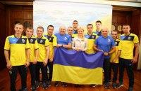 Юлия Светличная встретилась с украинскими боксерами – участниками чемпионата Европы-2017