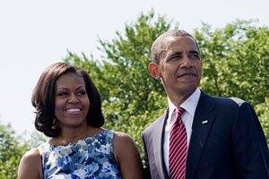 Подружжя Обам відзначило 20-річчя шлюбу