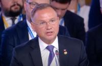 """Анджей Дуда запевнив Україну в підтримці """"кримського питання"""" з боку Польщі"""